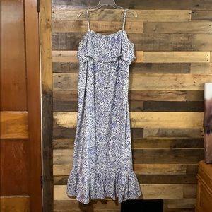 Blue Motherhood Maternity maxi dress size XL